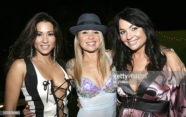 Yvette Lopez EG Daily and Lindsey Labrum during Last Chance for Animals Fundraiser at Private in Beverly Hills CA United States