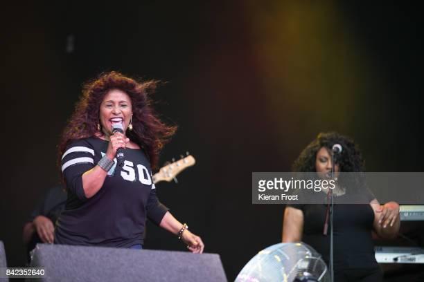 Yvette Marie Stevens perform at Electric Picnic Festival at Stradbally Hall Estate on September 3 2017 in Laois Ireland