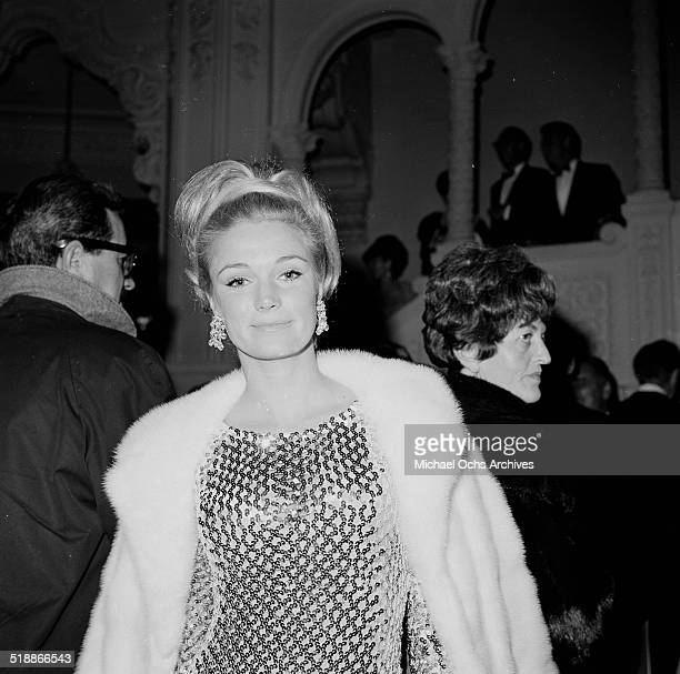 Yvette Mimieux attends an event in Los AngelesCA
