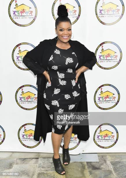 Yvette Nicloe Brown attends A Place Called Home's GirlPower Awards Luncheon at Skirball Cultural Center on May 11 2018 in Los Angeles California