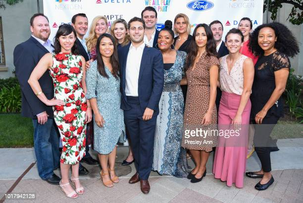 Yvette Nicole Brown and MPTF Team attend MPTF's Annual NextGen Summer Party at Paramount Pictures on August 16 2018 in Los Angeles California