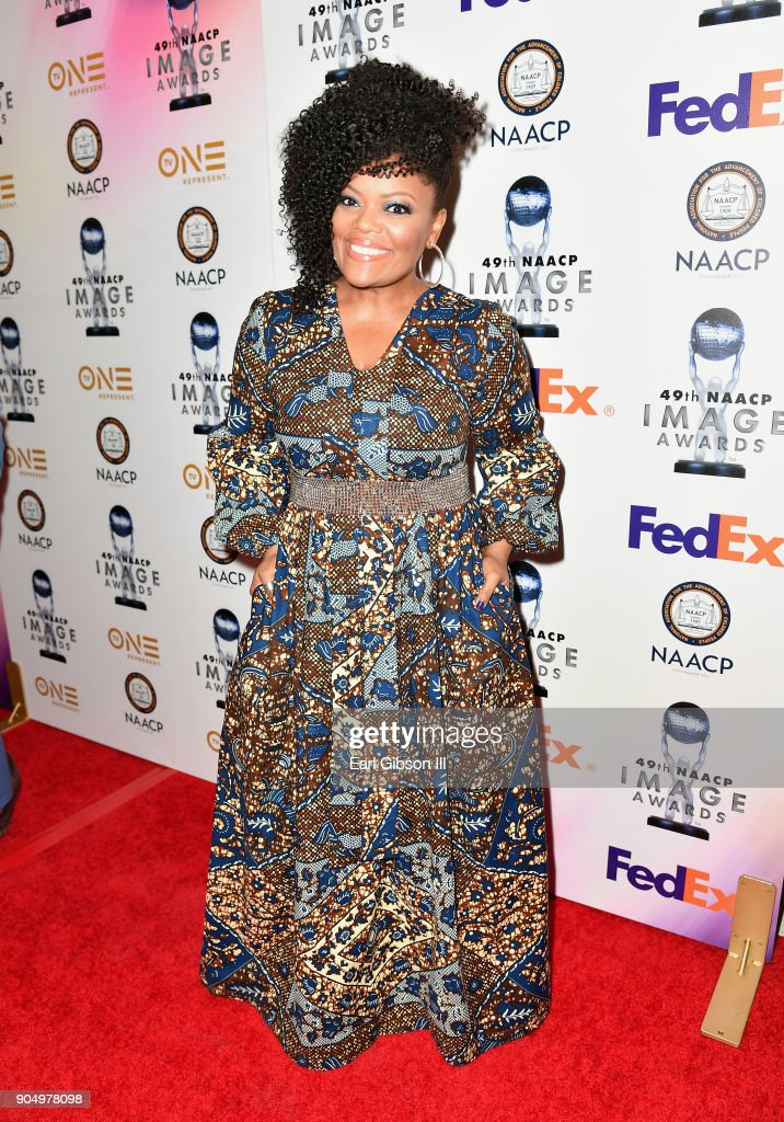 Yvette Nicole Brown at the 49th NAACP Image Awards Non-Televised Awards Dinner at the Pasadena Conference Center on January 14, 2018 in Pasadena, California.
