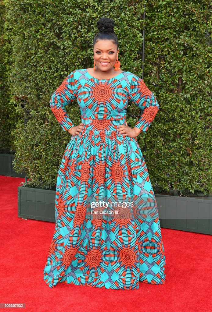 Yvette Nicole Brown at the 49th NAACP Image Awards on January 15, 2018 in Pasadena, California.
