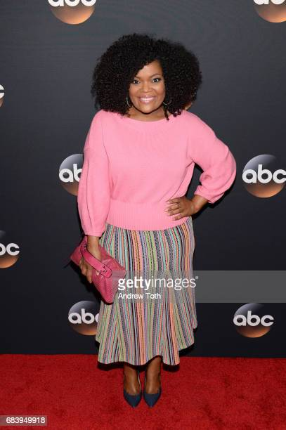 Yvette Nicole Brown attends the 2017 ABC Upfront on May 16 2017 in New York City