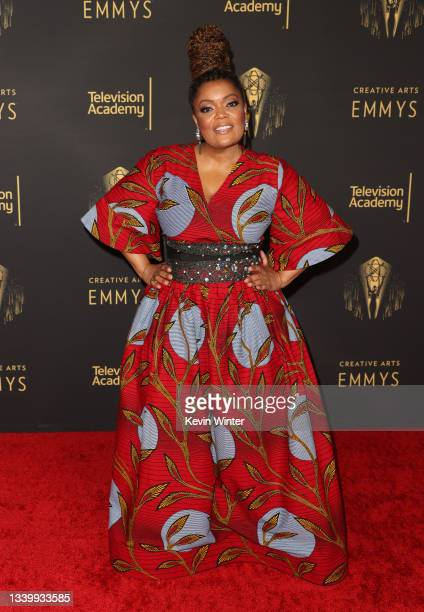 Yvette Nicole Brown attends the 2021 Creative Arts Emmys at Microsoft Theater on September 12, 2021 in Los Angeles, California.