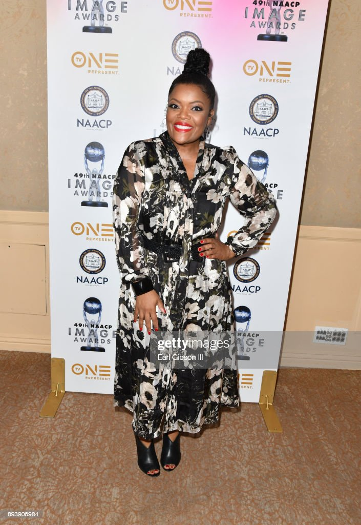 Yvette Nicole Brown attends the 49th NAACP Image Awards Nominees' Luncheon at The Beverly Hilton Hotel on December 16, 2017 in Beverly Hills, California.
