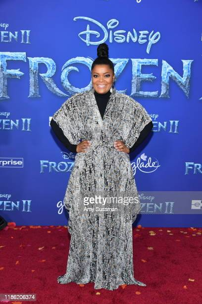 Yvette Nicole Brown attends the premiere of Disney's Frozen 2 at Dolby Theatre on November 07 2019 in Hollywood California