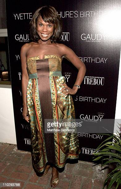 Yvette Noel Schure during Gaudy PR Presents a Celebration for TREBOU and the Birthday of Yvette Noel Schure at Private Residence in Los Angeles...