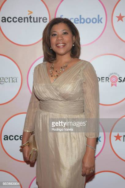 Yvette Pena from AARP arrives at the People en Espanol's 25 Most Powerful Women Luncheon 2018 on March 16 2018 in Miami Florida