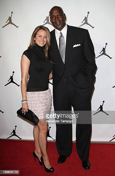 Yvette Prieto and Michael Jordan attend Jordan AllStar With Fabolous 23 at Isleworth Golf Country Club on February 25 2012 in Windermere Florida