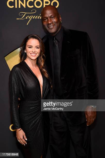 Yvette Prieto and Michael Jordan attend the Cincoro Tequila launch at CATCH Steak on September 18 2019 in New York City