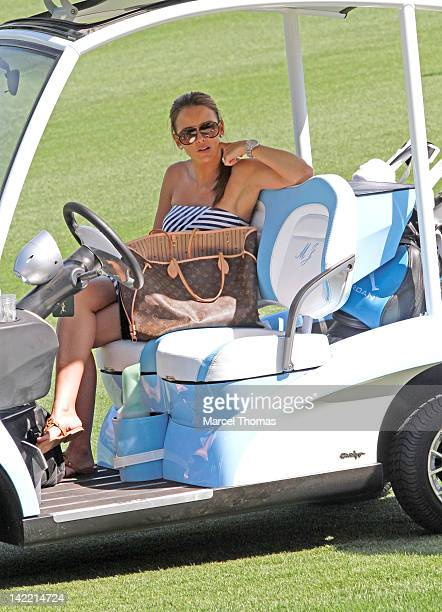 Yvette Prieto attends the 11th Annual Michael Jordan Celebrity Invitational golf tournament at Shadow Creek Golf Course on March 31 2012 in Las Vegas...