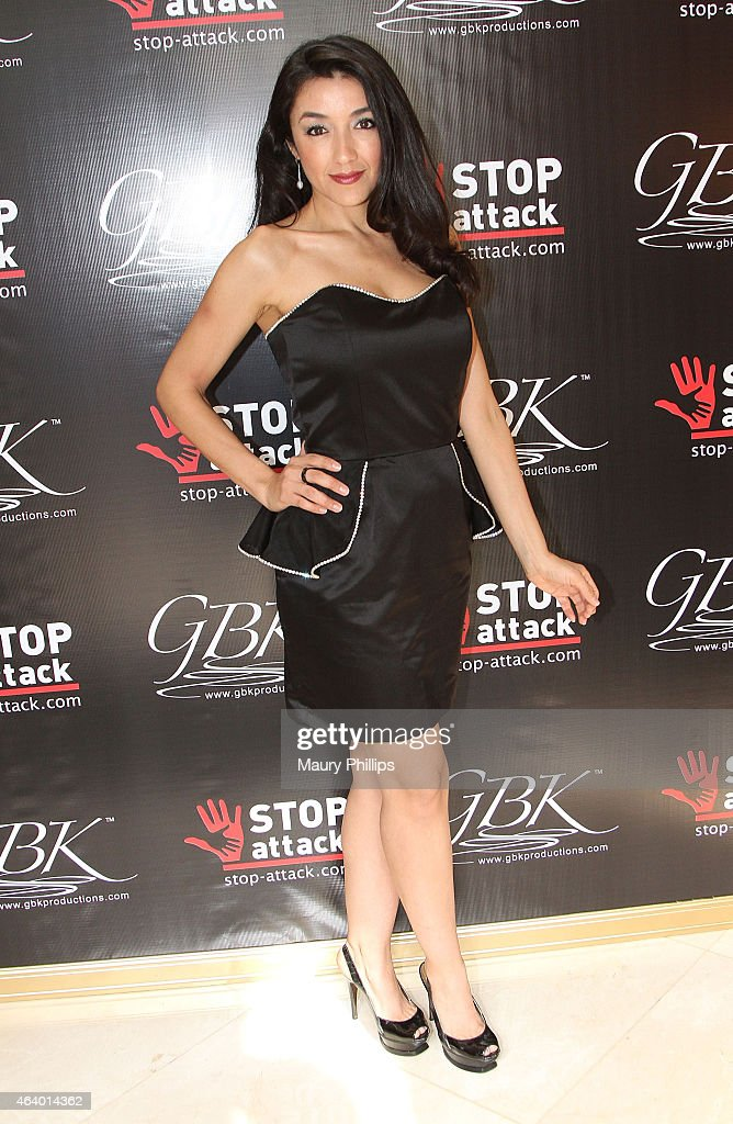 Yvette Yates attends GBK 2015 Pre-Oscar Awards luxury gift lounge on February 20, 2015 in Los Angeles, California.