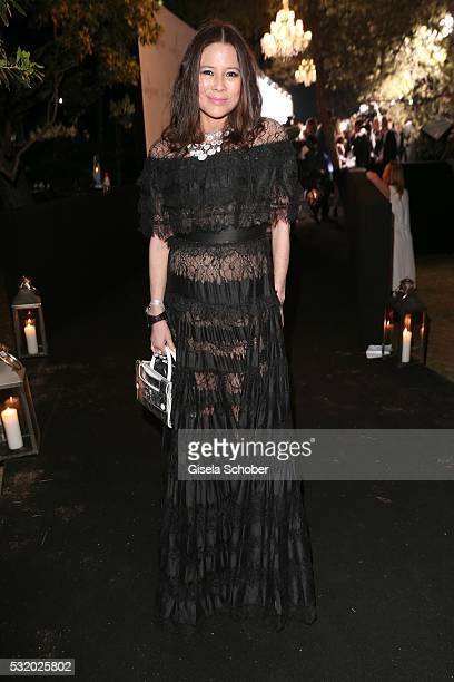 Yvette Yung baronesse of Aveley during the 'De Grisogono' Party at the annual 69th Cannes Film Festival at Hotel du CapEdenRoc on May 17 2016 in Cap...