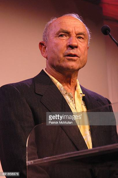 Yvon Chouinard attend National Design Awards Honoring the Best in American Design at The CooperHewitt on October 20 2005 in New York City