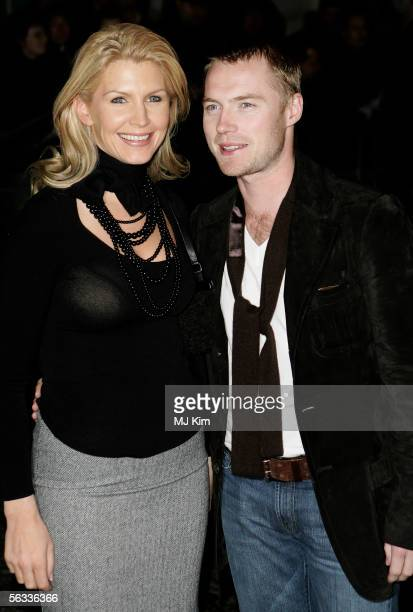 Yvonne and Ronan Keating arrive at the VIP preview screening of A Different Story a documentary based on singer George Michael's life at the Curzon...