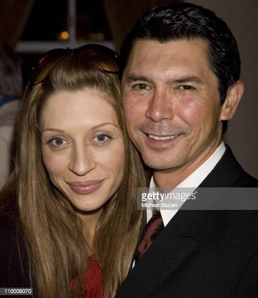 Yvonne Boismier and Lou Diamond Phillips during Burning Desire a Staged Reading Written by Lou Diamond Phillips and Directed by Wendie Malick June 18...