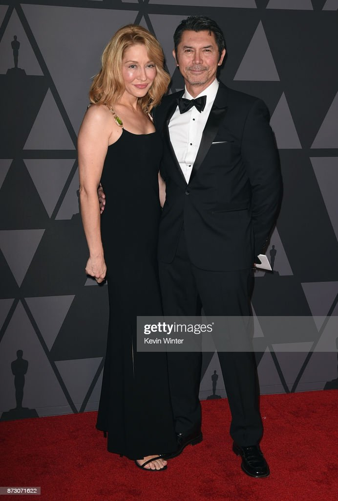 Yvonne Boismier Phillips and Lou Diamond Phillips attend the Academy of Motion Picture Arts and Sciences' 9th Annual Governors Awards at The Ray Dolby Ballroom at Hollywood & Highland Center on November 11, 2017 in Hollywood, California.