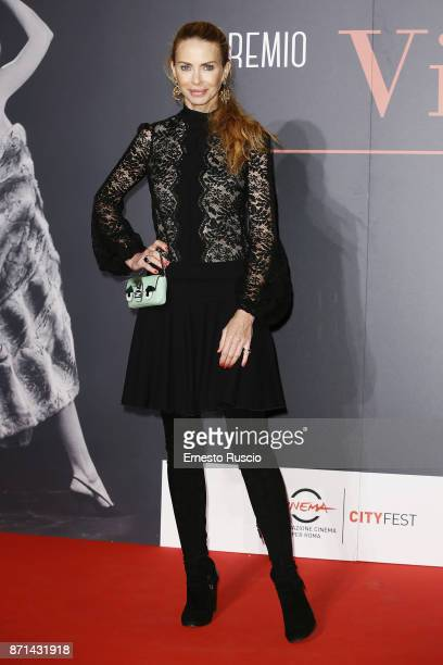Yvonne Brulatour Sci attends The Virna Lisi Award at Auditorium Parco Della Musica on November 7 2017 in Rome Italy