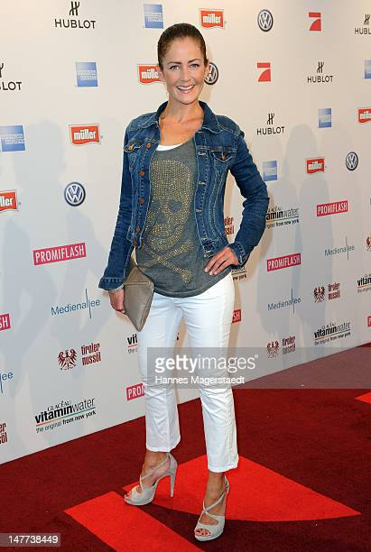 Yvonne Burbach attends the Movie Meets Media Party during the Munich Film Festival at the P1 on July 2 2012 in Munich Germany