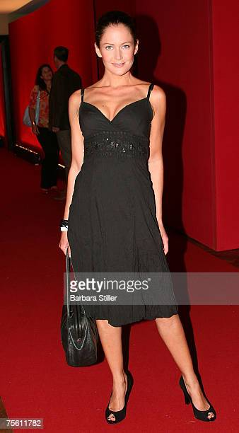 Yvonne Burbach attends the New Faces Award on July 23 2007 in Dusseldorf Germany