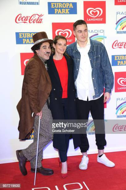 Yvonne Catterfeld and Manith Bertz during the Radio Regenbogen Award 2018 at Europapark Rust on March 23 2018 in Rust Germany