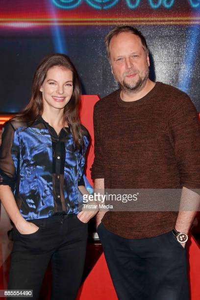 Yvonne Catterfeld and Smudo during the Photo Cal to the TV Show 'Wer weiss denn sowas XXL' on December 4 2017 in Hamburg Germany