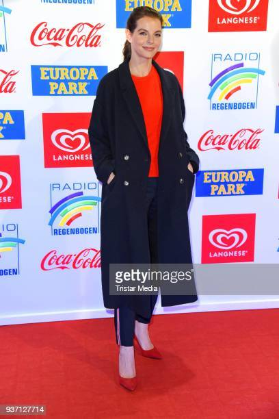 Yvonne Catterfeld attends the Radio Regenbogen Award 2018 on March 23 2018 in Rust Germany