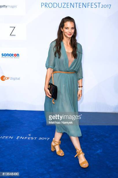 Yvonne Catterfeld attends the Summer Party of the German Producers Alliance on July 12 2017 in Berlin Germany