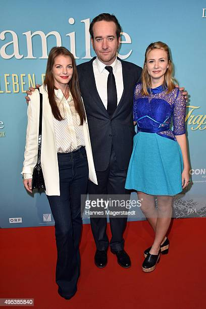 Yvonne Catterfeld Matthew Macfadyen and Eliza Bennett attend 'Die Trapp Familie Ein Leben fuer die Musik' German Premiere at Gloria Palast on...