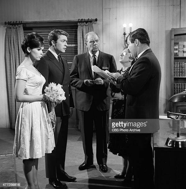 MARTIAN Yvonne Craig Bill Bixby Parley Baer Penny Stanton and Don Diamond in the episode 'Keep Me From the Church on Time' Image dated July 20 1965