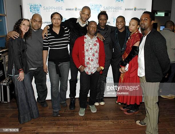 Yvonne Estrada, Michael Paul Britto, Shinique Smith, Brian Keith Jackson, curator, Rashaad Newsome, Mickalene Thomas, Kehinde Wiley, Ogechi Chieke...