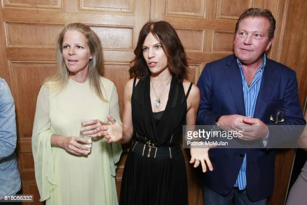 Yvonne Force Villareal Doreen Remen and John Unwin attend Jane Holzer Art Production Fund The Cosmopolitan of Las Vegas Host event for NARA Public...