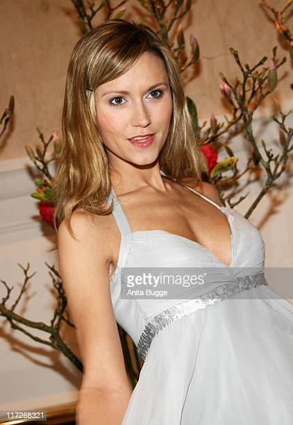 Yvonne Hoelzel attends the Berlin Filmball on day eight of the 58th Berlinale Film Festival at the Berlinale Palast on February 14 2008 in Berlin...