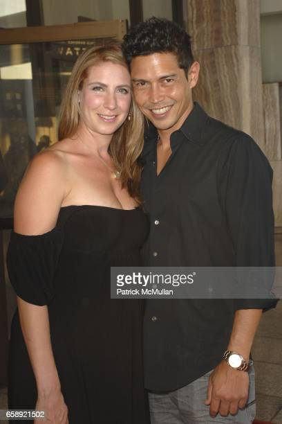 Yvonne Jung and Anthony Ruivivar attend 'A Perfect Getaway' Premiere at Cinerama Dome on August 5 2009 in Hollywood California