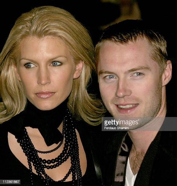Yvonne Keating and Ronan Keating during George Michael's A Different Story Gala London Screening Outside Arrivals at Curzon Mayfair in London Great...
