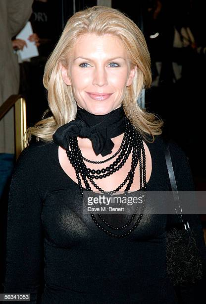 Yvonne Keating arrives at the VIP preview screening of A Different Story a documentary based on the singer George Michael's life at the Curzon...