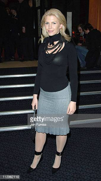 """Yvonne Keating during George Michael's """"A Different Story"""" Gala London Screening - Inside at Curzon Mayfair in London, Great Britain."""