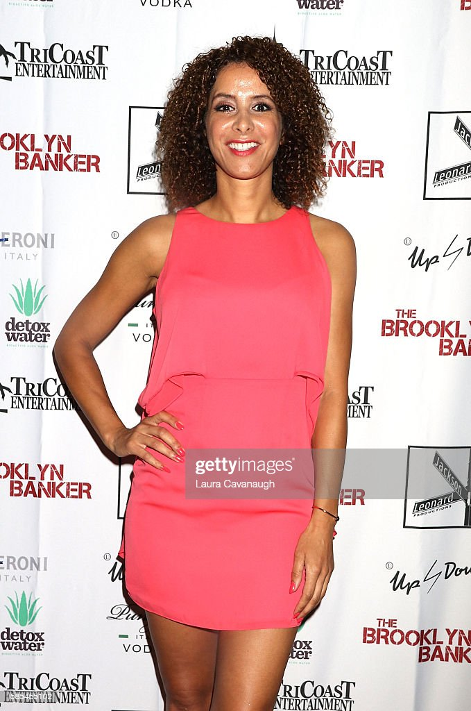 Yvonne Maria Schaefer attends 'The Brooklyn Banker' New York Premiere at SVA Theatre on August 2, 2016 in New York City.