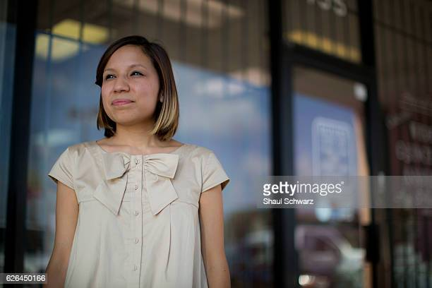 Yvonne Mendoza stands outside her mom's bakery Yvonne is a first generation MexicanAmerican whose personal experiences with depression provide...