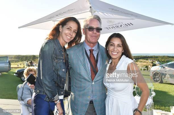 Yvonne Moravito John Tolberg and Shamin Abas attend The Bridge 2018 at The Bridge on September 15 2018 in Bridgehampton NY