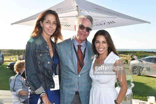 Yvonne Moravito, John Tolberg and Shamin Abas attend The Bridge 2018 at The Bridge on September 15, 2018 in Bridgehampton, NY.