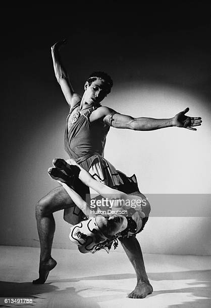 Yvonne Mounsey and Francisco Moncion from the New York City Ballet perform together in the The Prodigal Son The choreography is by George Balanchine...