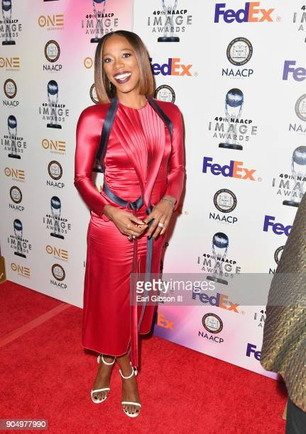 Yvonne Orji at the 49th NAACP Image Awards NonTelevised Awards Dinner at the Pasadena Conference Center on January 14 2018 in Pasadena California