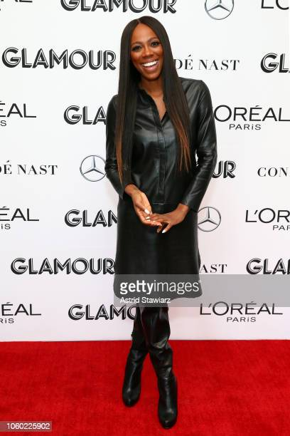 Yvonne Orji attends 2018 Glamour Women Of The Year Summit Women Rise at Spring Studios on November 11 2018 in New York City