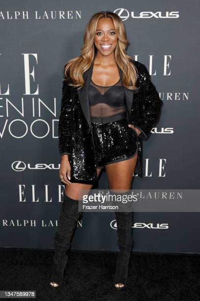 Yvonne Orji attends ELLE's 27th Annual Women In Hollywood Celebration, presented by Ralph Lauren and Lexus, at Academy Museum of Motion Pictures on...