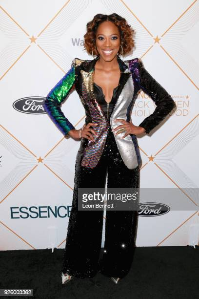 Yvonne Orji attends the 2018 Essence Black Women In Hollywood Oscars Luncheon at Regent Beverly Wilshire Hotel on March 1 2018 in Beverly Hills...