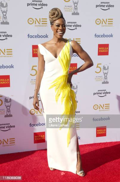 Yvonne Orji attends the 50th NAACP Image Awards at Dolby Theatre on March 30 2019 in Hollywood California