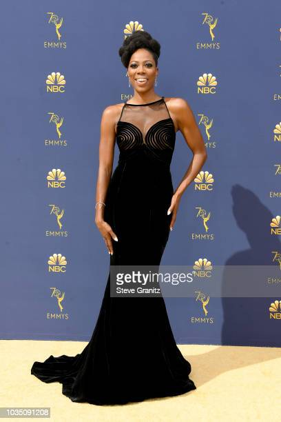 Yvonne Orji attends the 70th Emmy Awards at Microsoft Theater on September 17 2018 in Los Angeles California