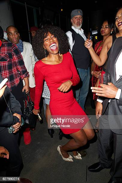 Yvonne Orji attends the 9th Annual Manifest Your Destiny Toy Drive And Fundraiser on December 5 2016 in Los Angeles California